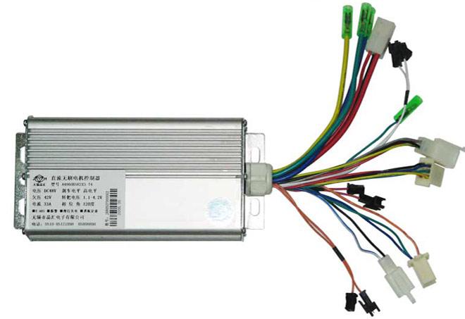 无刷电机控制器变速接线